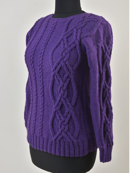 Warm Violet Sweater