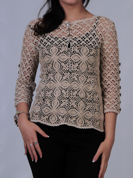 Cream Blouse Shop
