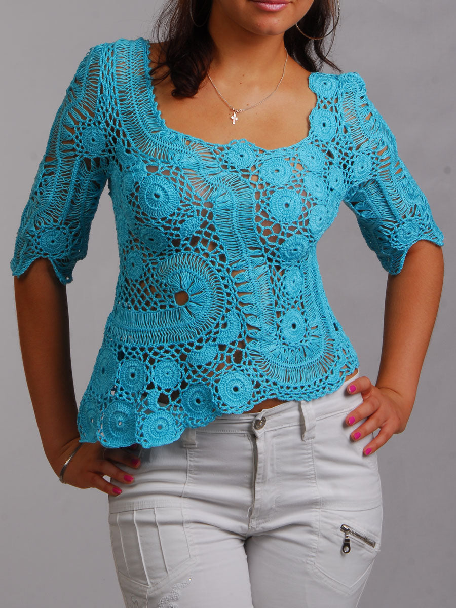 Cotton Summer Blouse