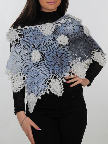 Wool Mohair Shawl