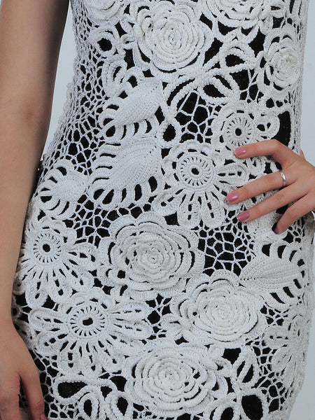 White Lacy Sundress