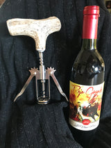 Antler Wine Corkscrew