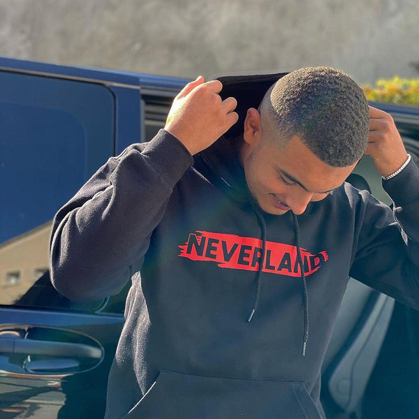 EDITION LIMITÉE - HOODIE NEVERLAND ROUGE