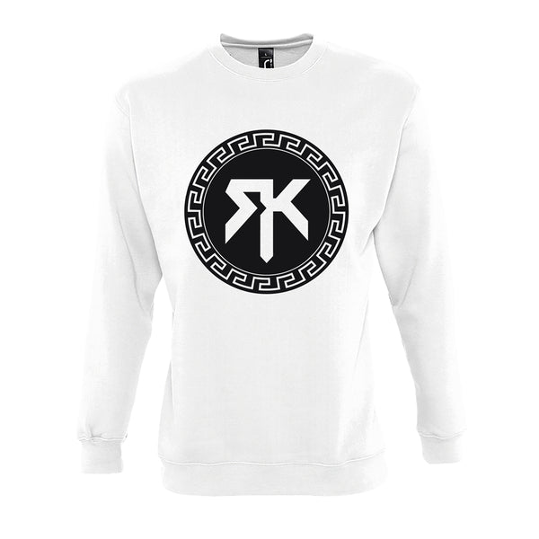 Sweat Blanc - Crew neck RK