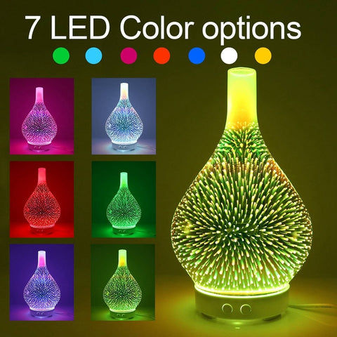 Fireworks Diffuser brings Mesmerizing Colors, Moisturized Air & Hours of Relaxation