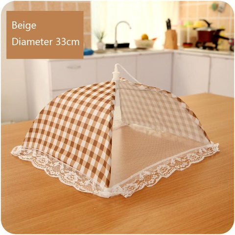 Kitchen Accessories Food Umbrella Cover Picnic Barbecue Party Sports Fly Mosquito Mesh Net Tent Anti Fly Mosquito Food Covers#XT
