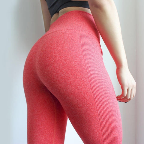 Women High Elastic Fitness Sport Leggings Yoga Pants Slim Running Tights Sportswear Sports Pants.