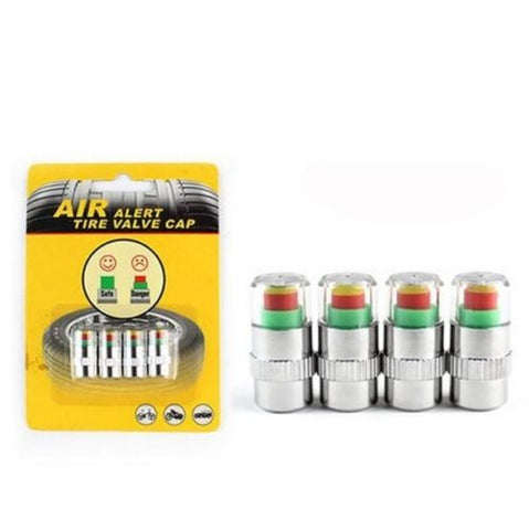 Copy of Useful 4Pcs/set Cars Tire Air Pressure Monitor Alert Indicator Tire Valve Cap Gauge Car Accessories