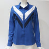 Women Blouses Fashion Long Sleeve Turn Down Collar Office Shirt Chiffon Blouse Shirt Casual.