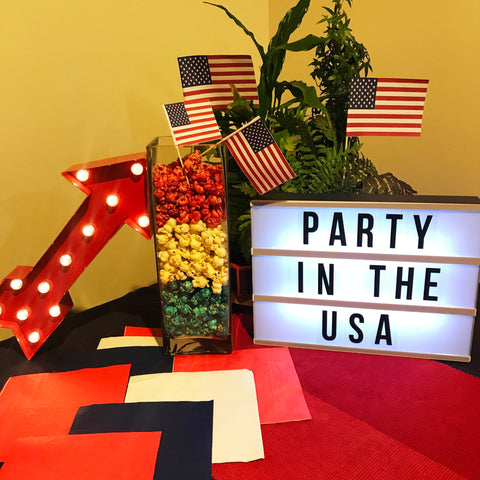 4th of July USA Party