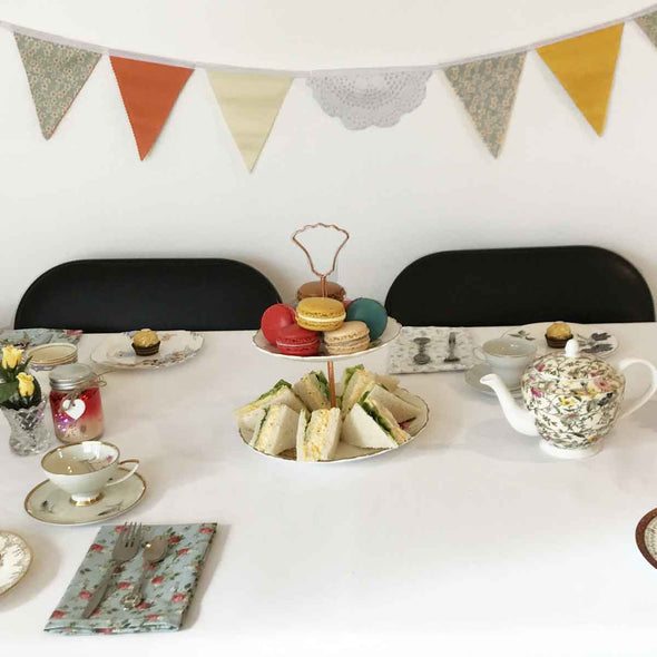 Floral Kids High Tea Party Package