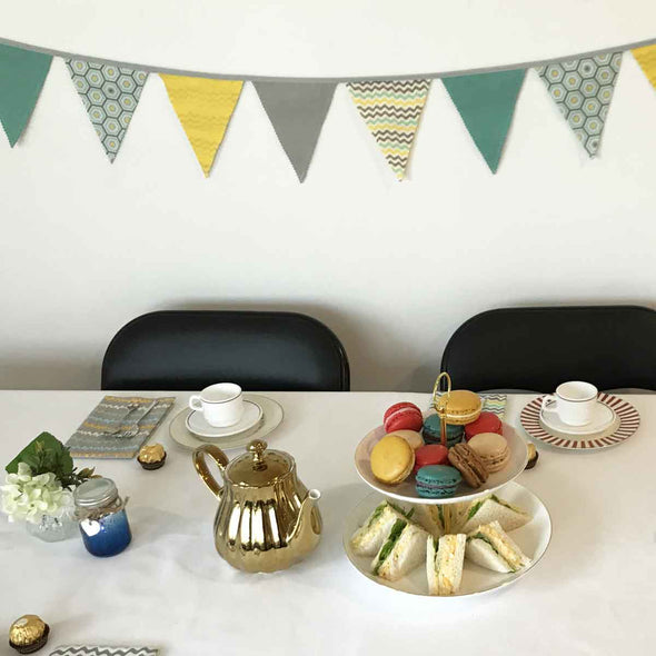 Geometric Kids High Tea Party Package