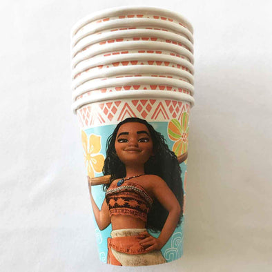 Disney Moana paper party cups