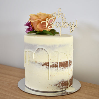 Oh Baby! Cake Topper Small