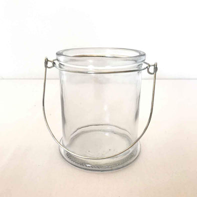 Glass Hanging Votive Jar Party Hire