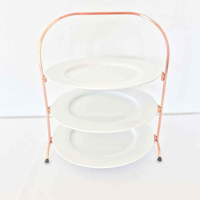 Three Tier Cake Plate Party Hire