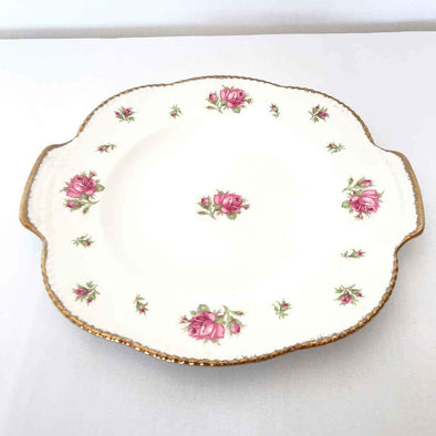 Vintage Floral Serving Plate Party Hire
