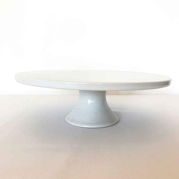 White Pedestal Cake Stand Party Hire