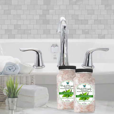 PERFECT NECESSITY BATH SOAK: EUCALYPTUS MINT