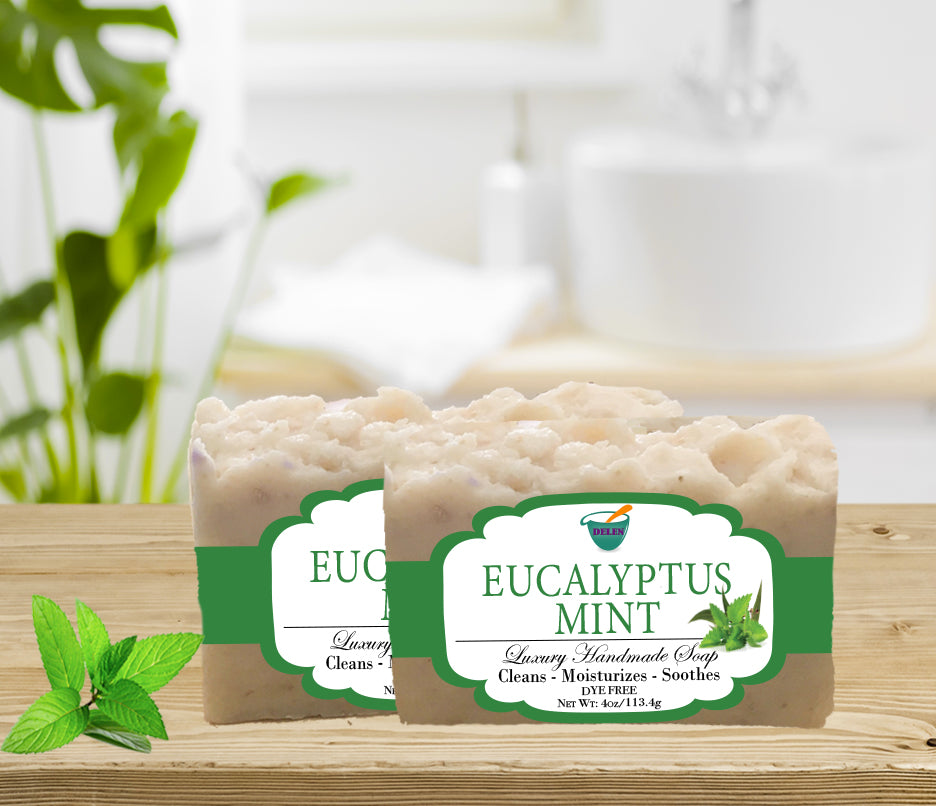 EUCALYPTUS BAR                                             4oz BAR SOAP