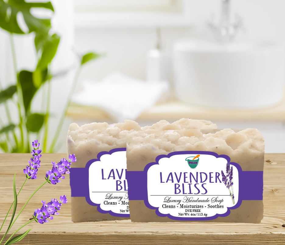 LAVENDER BLISS                                             4oz BAR SOAP