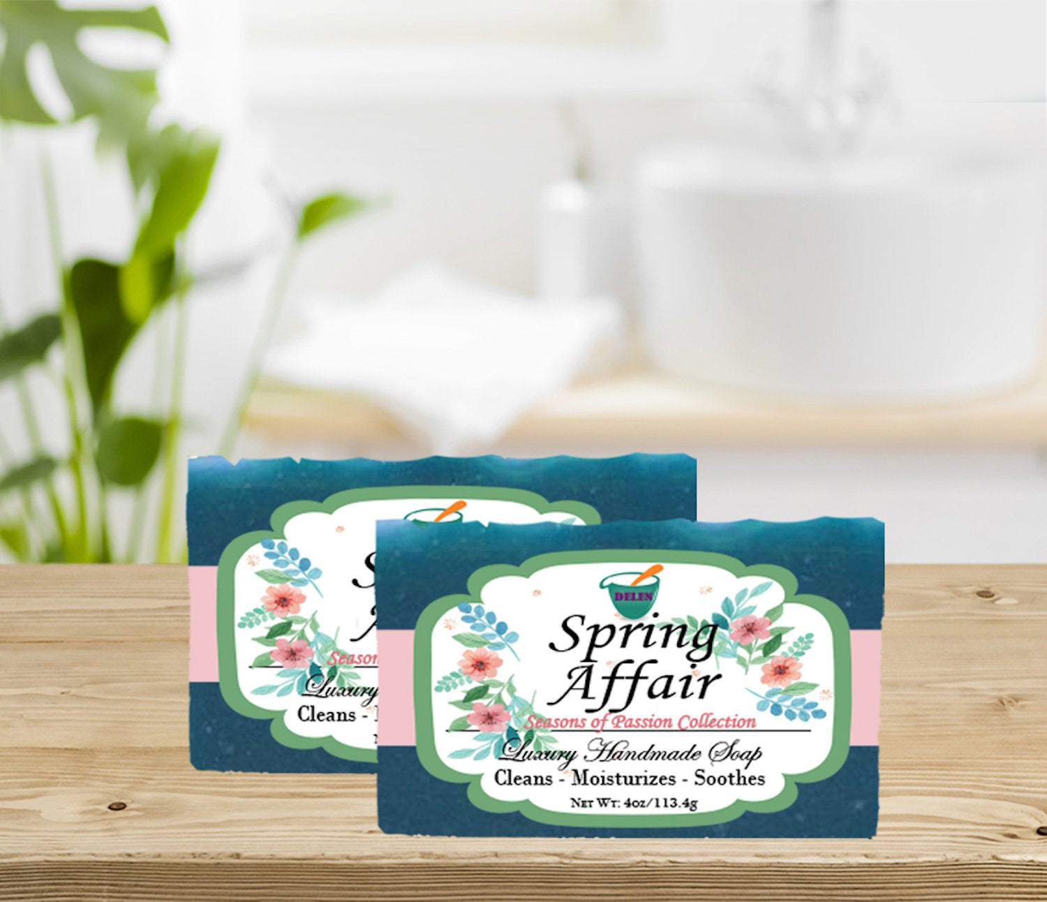 SPRING AFFAIR                                                          4oz BAR SOAP