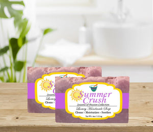 SUMMER CRUSH                                          4oz BAR SOAP