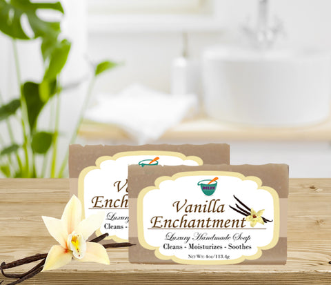 VANILLA ENCHANTMENT                                                 4oz BAR SOAP