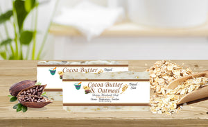 COCOA BUTTER & OATMEAL           2oz BAR SOAP
