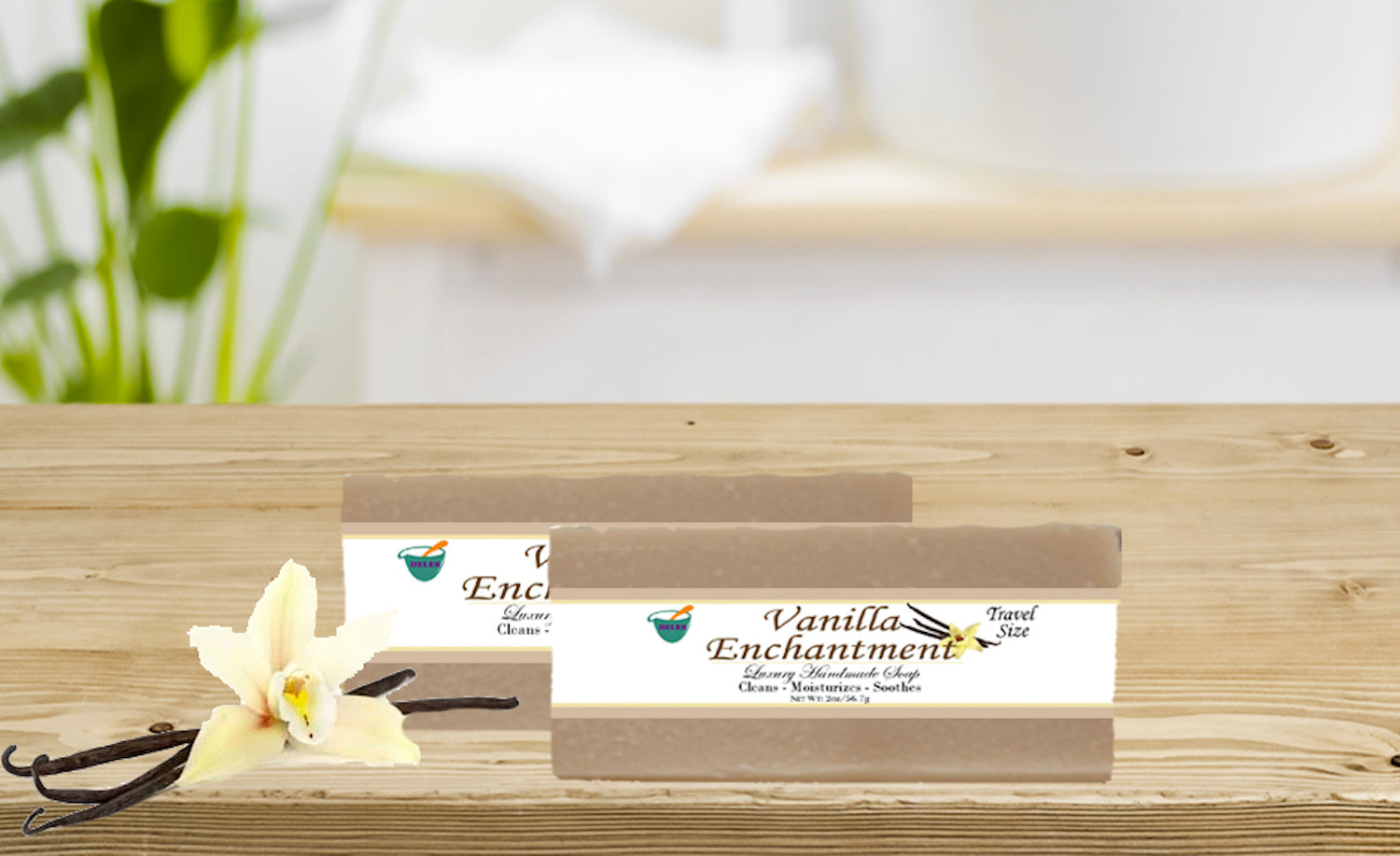 VANILLA ENCHANTMENT                                                 2oz BAR SOAP