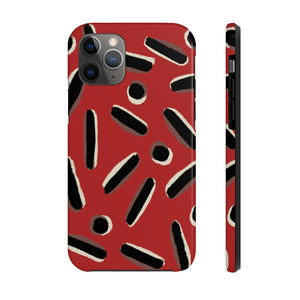 Open image in slideshow, Crimson Slime iPhone Case - ARTBYOPAL