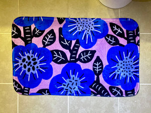 Blueberry Bush Bath Mat