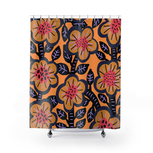Open image in slideshow, Apricot Bush Shower Curtain