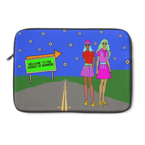 Open image in slideshow, Rudy & Judy Laptop Sleeve - ARTBYOPAL