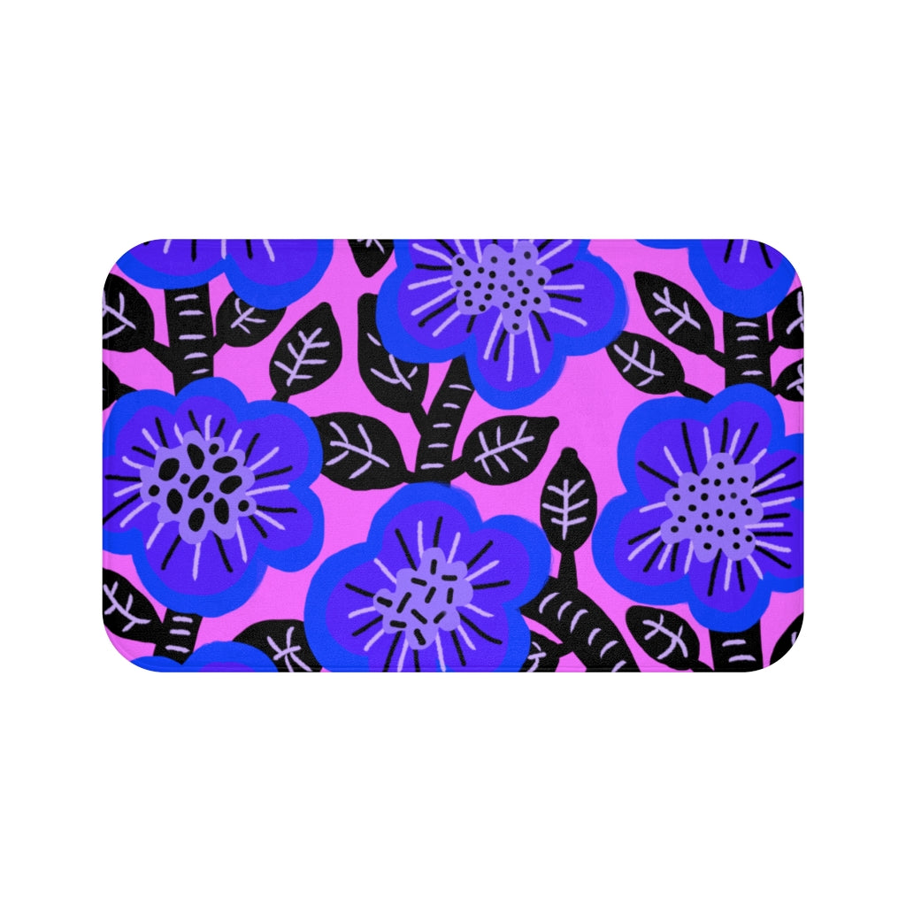 Blueberry Bush Bath Mat - ARTBYOPAL