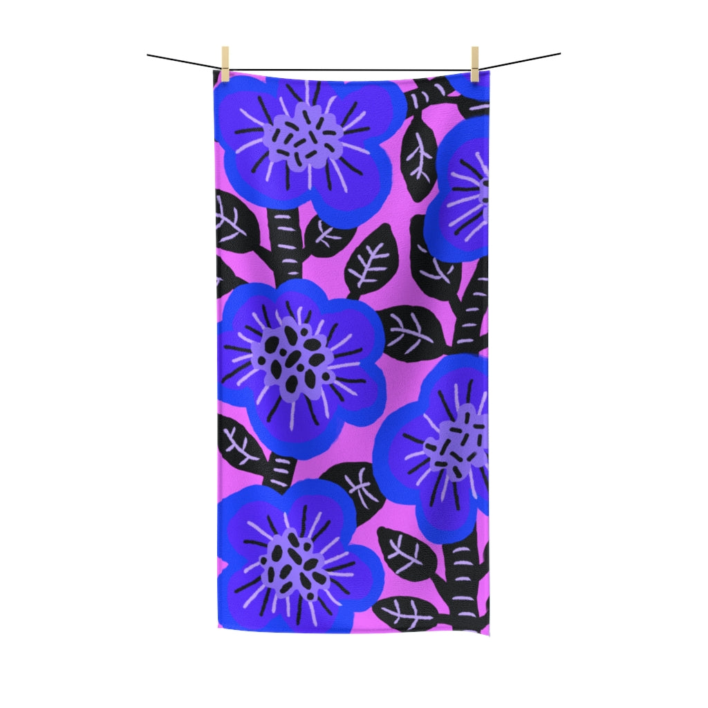 Blueberry Bush Towel - ARTBYOPAL