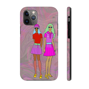 Open image in slideshow, Rudy & Judy iPhone Case - ARTBYOPAL