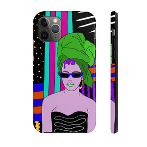 Open image in slideshow, Hottie in a Headwrap iPhone Case - ARTBYOPAL