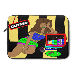 Open image in slideshow, Nobody's Home Laptop Sleeve - ARTBYOPAL