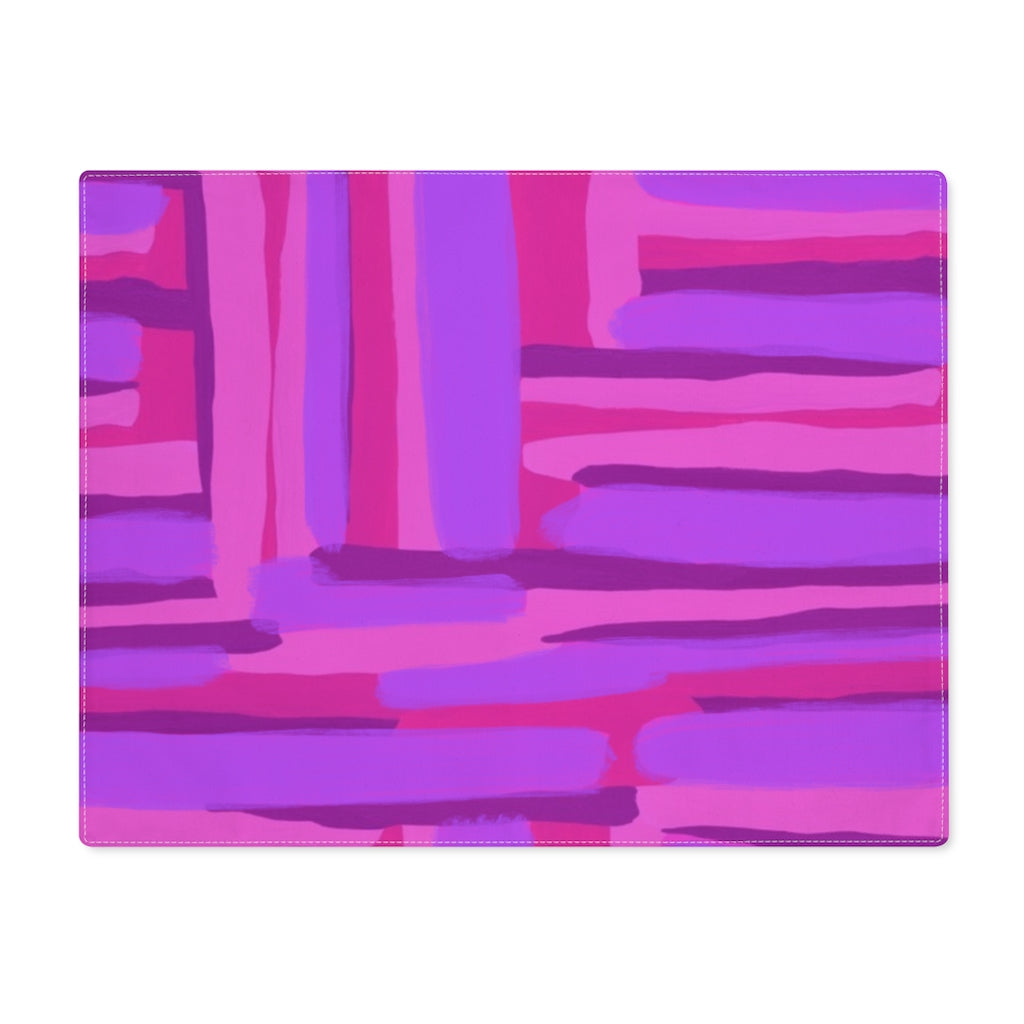 Pink Abstract Placemat - ARTBYOPAL