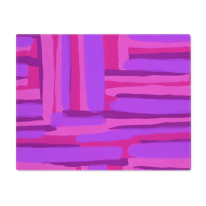 Open image in slideshow, Pink Abstract Placemat - ARTBYOPAL