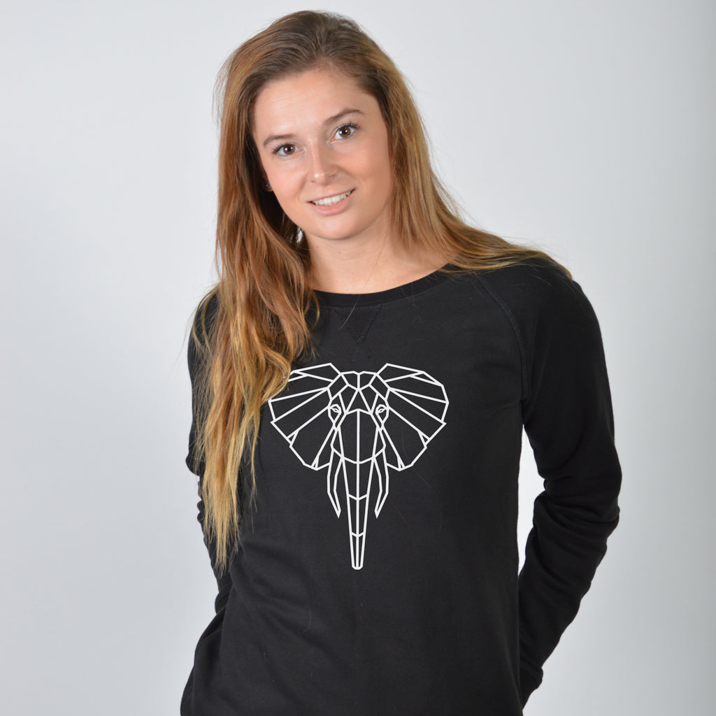 Dames sweater - Olifant