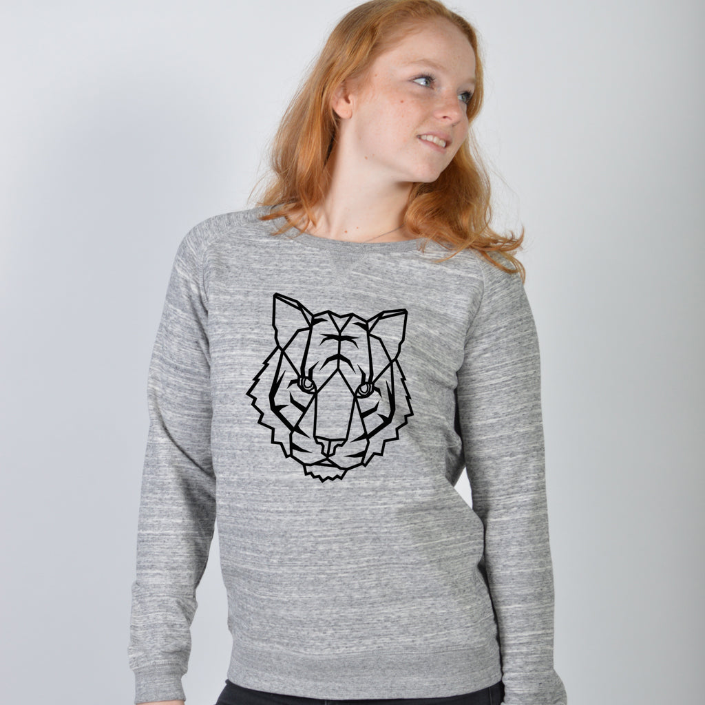 Dames sweater - Tijger