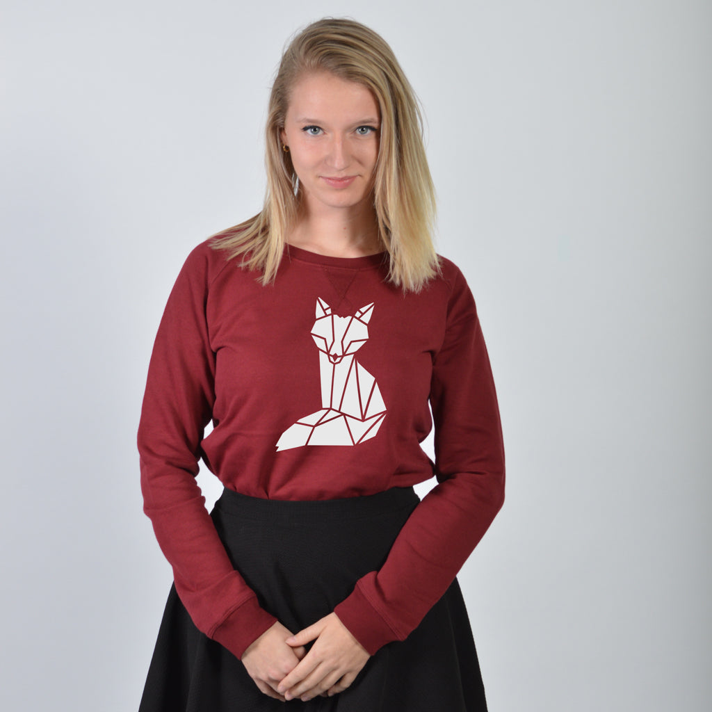 Dames sweater - Vos vlakken