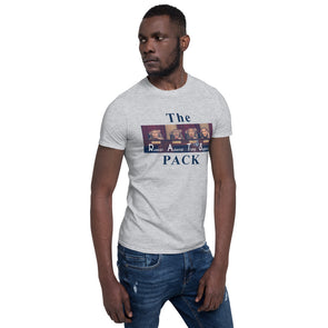 RAT PACK Short-Sleeve Unisex T-Shirt.