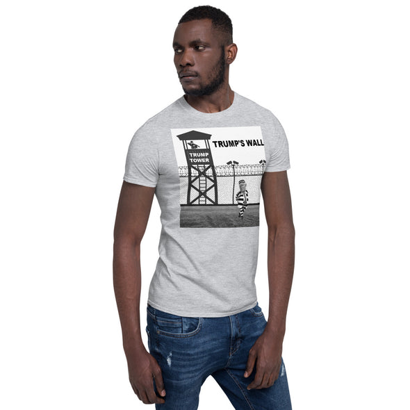 TRUMP TOWER Prison Short-Sleeve Unisex T-Shirt.