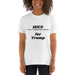 Short-Sleeve Unisex T-Shirt white HiCS4Trump