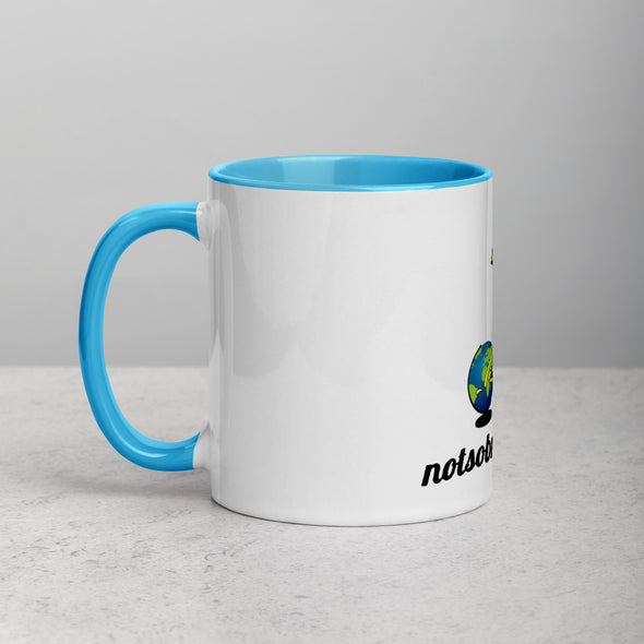 Coffee Mug with Color Inside.