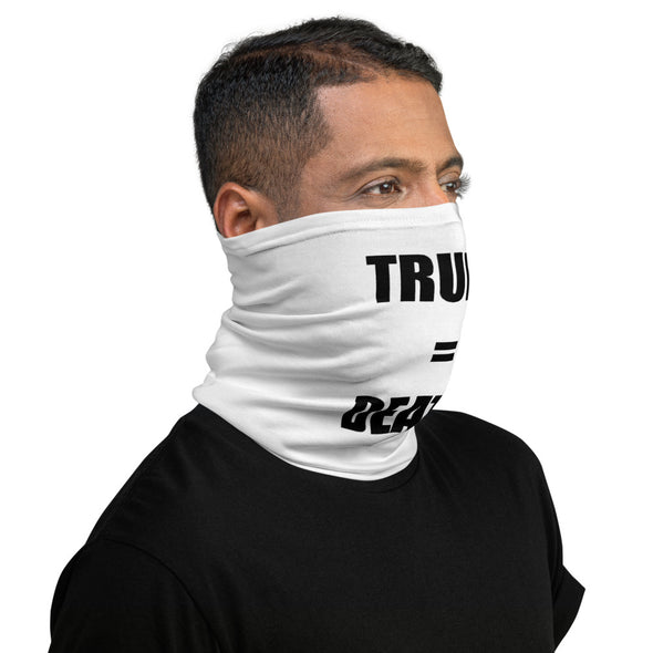 TRUMP = DEATH FACE MASK Neck Gaiter.