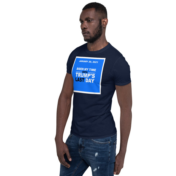 BIDEN Short-Sleeve Unisex T-Shirt.
